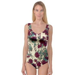 Floral Dreams 10 Princess Tank Leotard