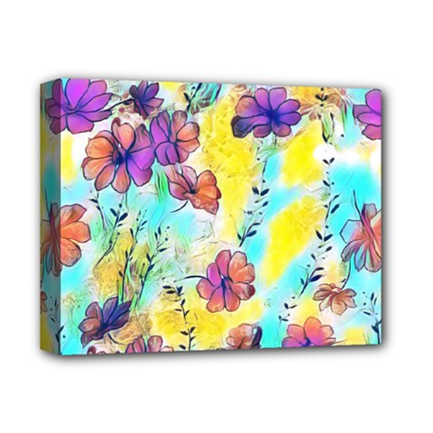 Floral Dreams 12 Deluxe Canvas 14  x 11