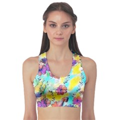 Floral Dreams 12 Sports Bra