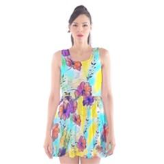 Floral Dreams 12 Scoop Neck Skater Dress
