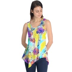 Floral Dreams 12 Sleeveless Tunic