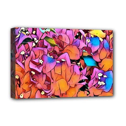 Floral Dreams 15 Deluxe Canvas 18  x 12