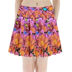 Floral Dreams 15 Pleated Mini Skirt