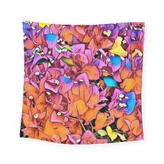 Floral Dreams 15 Square Tapestry (Small)