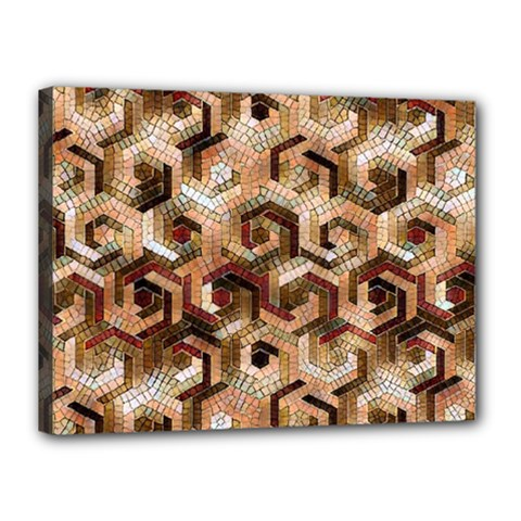 Pattern Factory 23 Brown Canvas 16  x 12