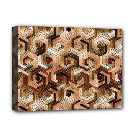 Pattern Factory 23 Brown Deluxe Canvas 16  x 12