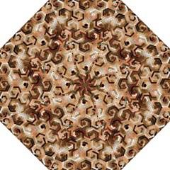 Pattern Factory 23 Brown Hook Handle Umbrellas (Medium)