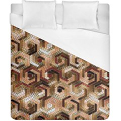 Pattern Factory 23 Brown Duvet Cover (California King Size)
