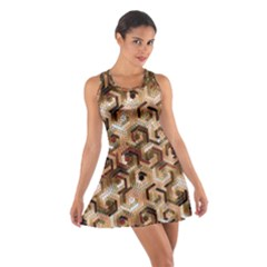 Pattern Factory 23 Brown Cotton Racerback Dress
