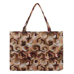 Pattern Factory 23 Brown Medium Tote Bag