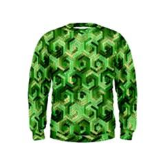 Pattern Factory 23 Green Kids  Sweatshirt