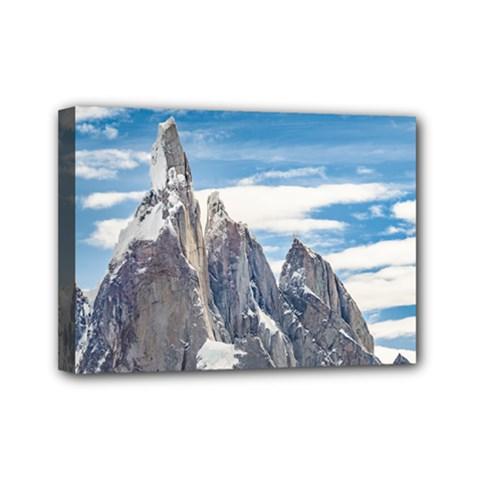 Cerro Torre Parque Nacional Los Glaciares  Argentina Mini Canvas 7  x 5