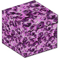 Pattern Factory 23 Pink Storage Stool 12