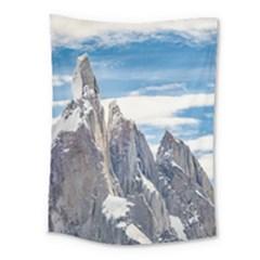 Cerro Torre Parque Nacional Los Glaciares  Argentina Medium Tapestry