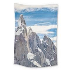 Cerro Torre Parque Nacional Los Glaciares  Argentina Large Tapestry