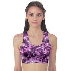 Pattern Factory 23 Pink Sports Bra