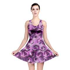 Pattern Factory 23 Pink Reversible Skater Dress