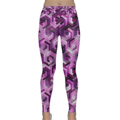 Pattern Factory 23 Pink Classic Yoga Leggings