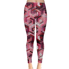 Pattern Factory 23 Red Leggings