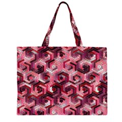 Pattern Factory 23 Red Large Tote Bag