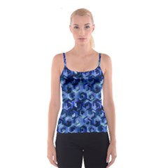 Pattern Factory 23 Blue Spaghetti Strap Top