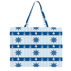 Sea pattern Large Tote Bag