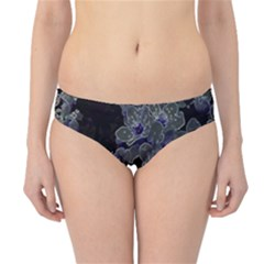 Glowing Flowers In The Dark B Hipster Bikini Bottoms