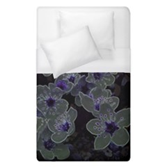 Glowing Flowers In The Dark B Duvet Cover (Single Size)