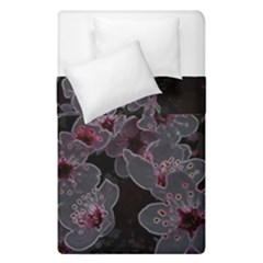 Glowing Flowers In The Dark A Duvet Cover Double Side (Single Size)