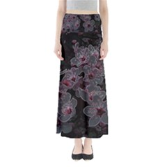 Glowing Flowers In The Dark A Maxi Skirts