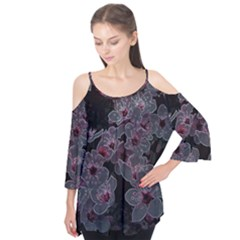 Glowing Flowers In The Dark A Flutter Tees