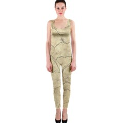 Cracked Skull Bone Surface B OnePiece Catsuit