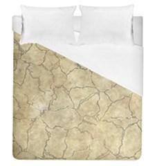 Cracked Skull Bone Surface B Duvet Cover (Queen Size)