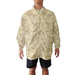 Cracked Skull Bone Surface B Wind Breaker (Kids)