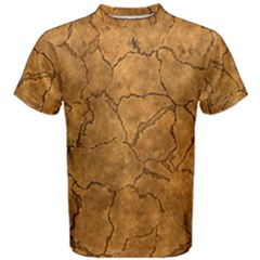 Cracked Skull Bone Surface C Men s Cotton Tee