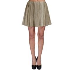 Wooden Structure 3 Skater Skirt