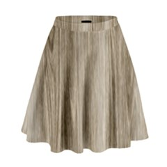 Wooden Structure 3 High Waist Skirt
