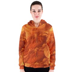 Fantastic Wood Grain Women s Zipper Hoodie