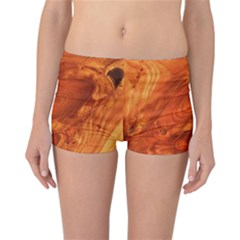 Fantastic Wood Grain Reversible Bikini Bottoms