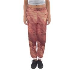 Fantastic Wood Grain,brown Women s Jogger Sweatpants