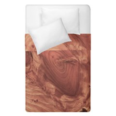 Fantastic Wood Grain,brown Duvet Cover Double Side (Single Size)