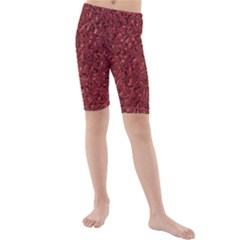 Sparkling Metal Art B Kids  Mid Length Swim Shorts