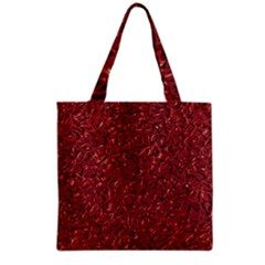 Sparkling Metal Art B Grocery Tote Bag