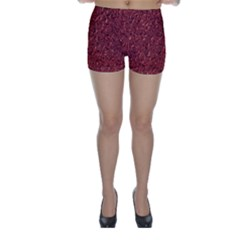 Sparkling Metal Art B Skinny Shorts