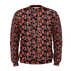 Roses pattern Men s Sweatshirt