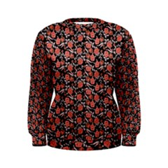 Roses pattern Women s Sweatshirt