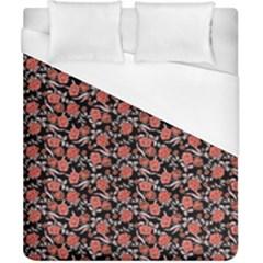 Roses pattern Duvet Cover (California King Size)