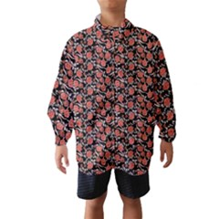 Roses pattern Wind Breaker (Kids)
