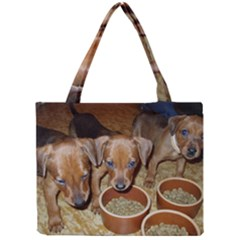 German Pinscher Puppies Mini Tote Bag