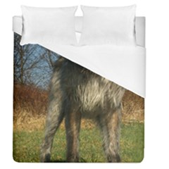 Irish Wolfhound full Duvet Cover (Queen Size)